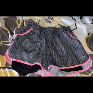 RBX shorts with built in spandex